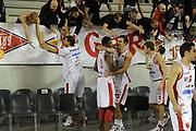DESCRIZIONE : Roma Lega A 2011-12 Virtus Roma Cimberio Varese<br /> GIOCATORE : team varese<br /> CATEGORIA : esultanza pubblico tifosi curva<br /> SQUADRA : Cimberio Varese<br /> EVENTO : Campionato Lega A 2011-2012<br /> GARA : Virtus Roma Cimberio Varese<br /> DATA : 30/10/2011<br /> SPORT : Pallacanestro<br /> AUTORE : Agenzia Ciamillo-Castoria/GiulioCiamillo<br /> Galleria : Lega Basket A 2011-2012<br /> Fotonotizia : Roma Lega A 2011-12 Virtus Roma Cimberio Varese<br /> Predefinita :