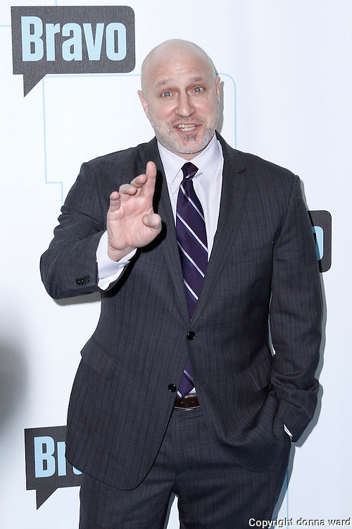 Tom Collichio attends the 2010 Bravo Media Upfront Party at Skylight Studios in New York City on March 10, 2010.
