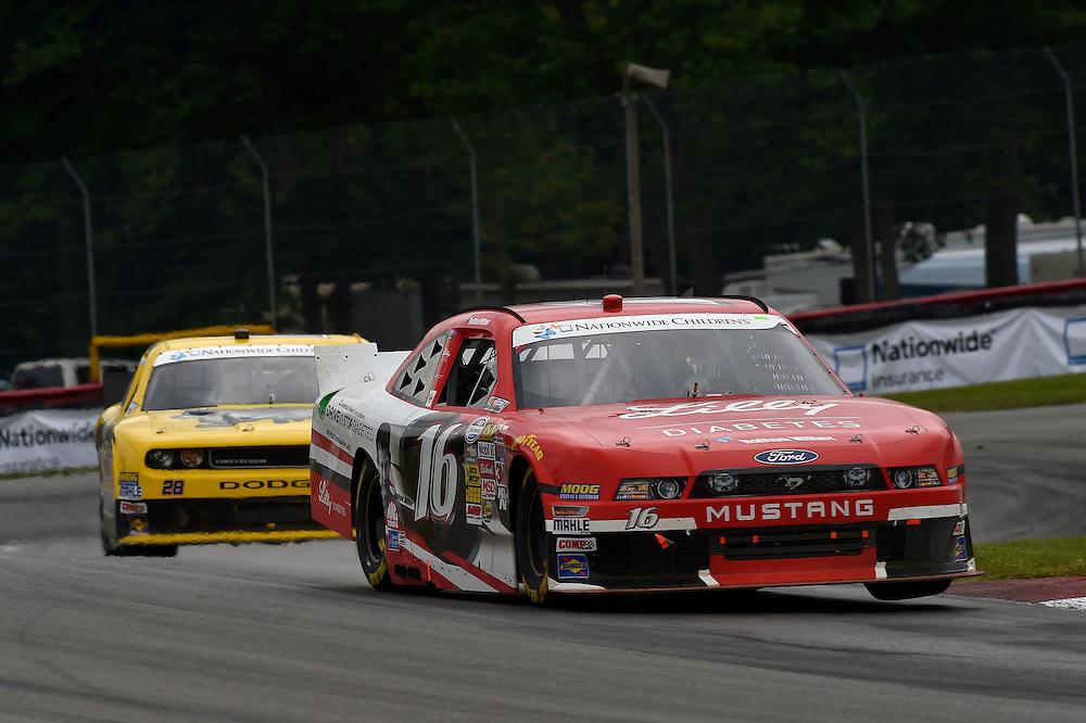 15-16 August, 2014, Lexington, Ohio USA<br /> Ryan Reed, J.J. Yeley<br /> &copy;2014, Scott R LePage <br /> LAT Photo USA