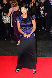 Konnie Huq arriving for the premiere of new film Captain Phillips on the opening night of the London Film Festival, Wednesday, 9th October 2013. Picture by Nils Jorgensen / i-Images