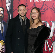 2019, December 01. Pathe ArenA, Amsterdam, the Netherlands. Birgit Kunstt at the dutch premiere of The Addams Family.