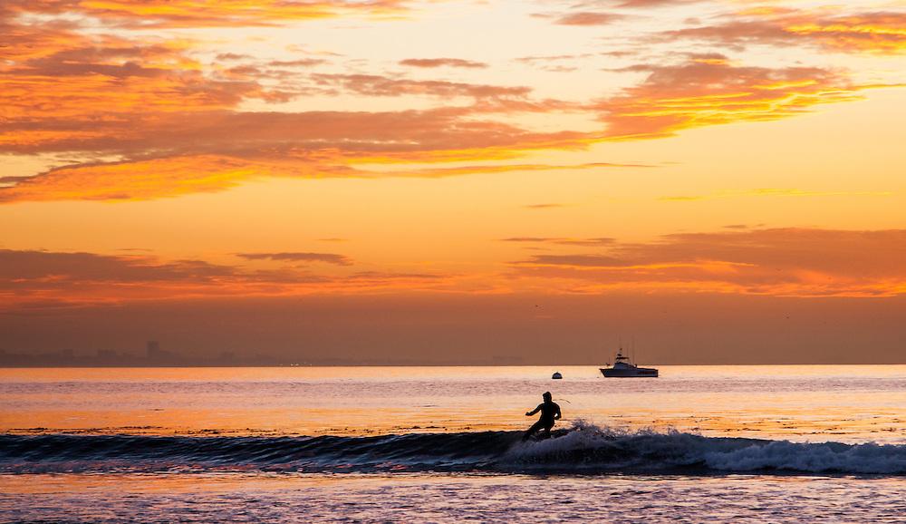 Malibu California sunrise
