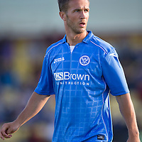 St Johnstone FC.. 2014-2015 Season<br /> Chris Millar<br /> Picture by Graeme Hart.<br /> Copyright Perthshire Picture Agency<br /> Tel: 01738 623350  Mobile: 07990 594431