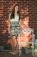 Karina T senior portrait session.  ©2015 Karen Bobotas Photographer