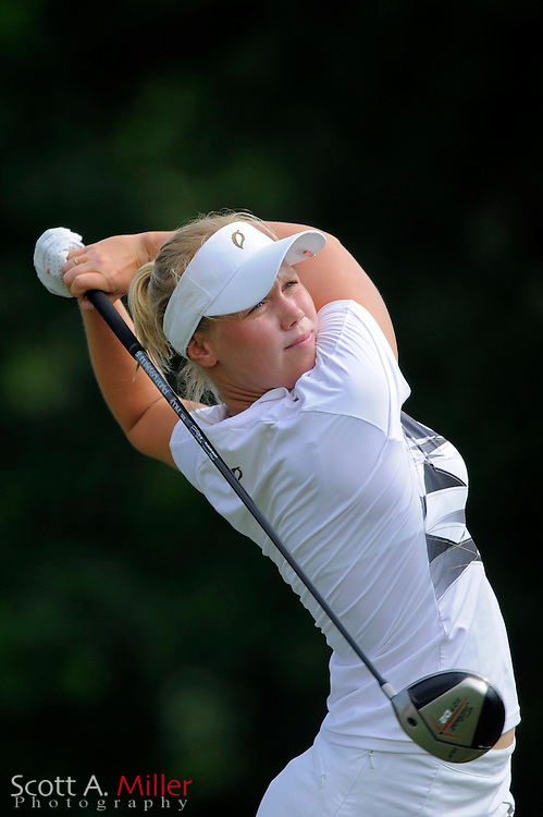 Minea Blomqvist in action during the final round of the Ginn Open at Reunion Resort on April 20, 2008 in Reunion, Florida...©2008 Scott A. Miller