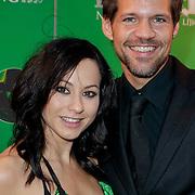 NLD/Scheveningen/20111106 - Premiere musical Wicked, Rene van Kooten en partner Tanya