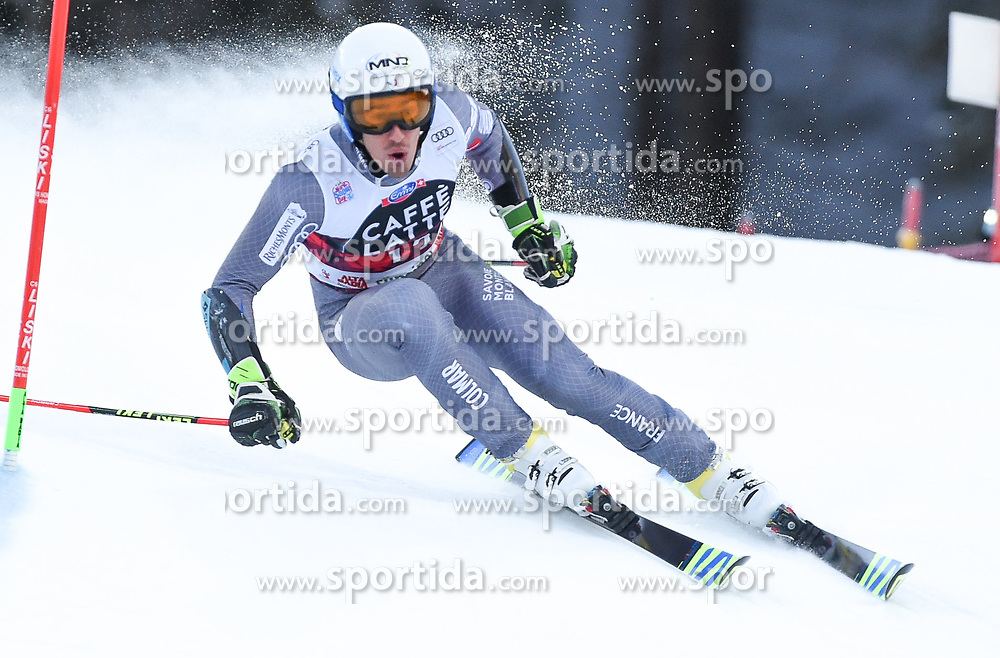 17.12.2017, Grand Risa, La Villa, ITA, FIS Weltcup Ski Alpin, Alta Badia, Riesenslalom, Herren, 1. Lauf, im Bild Victor Muffat-Jeandet (FRA) // Victor Muffat-Jeandet of France in action during his 1st run of men's Giant Slalom of FIS ski alpine world cup at the Grand Risa in La Villa, Italy on 2017/12/17. EXPA Pictures © 2017, PhotoCredit: EXPA/ Erich Spiess