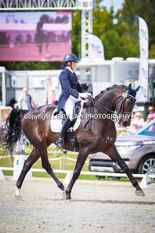 NZL-Vanessa Way (NRM ARAWN) 2ND-VIRBAC EQUINE CDI FEI GRAND PRIX: 2015 NZL-Farmlands Horse Of The Year Show, Hastings (Friday 20 March) CREDIT: Libby Law CREDIT: LIBBY LAW PHOTOGRAPHY