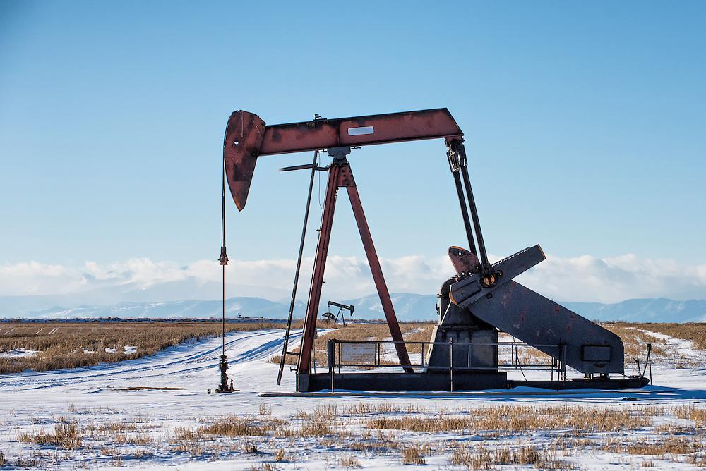Oil & gas fields of Colorado.