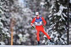 March 9, 2019 - –Stersund, Sweden - 190309 Aidan Millar of Canada competes in the Men's 10 KM sprint during the IBU World Championships Biathlon on March 9, 2019 in Östersund..Photo: Petter Arvidson / BILDBYRÃ…N / kod PA / 92252 (Credit Image: © Petter Arvidson/Bildbyran via ZUMA Press)