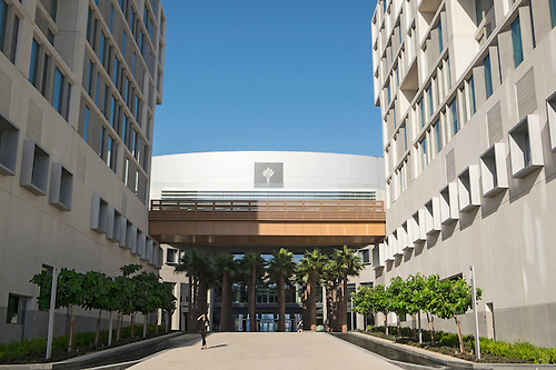 New Abu Dhabi Campus Of New York University (NYU) On Saadiyat Island In  United