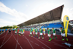 Football match between NK Bravo and NK Olimpija Ljubljana in 1st Round of Prva liga Telekom Slovenije 2019/20, on July 14, 2019 in Sports park , Ljubljana, Slovenia. Photo by Ziga Zupan / Sportida