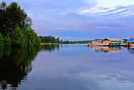 Scappoose Bay at sunset - Scappoose, OR