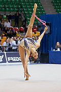 Agiurgiuculese Alexandra during the Italian Rhythmic Gymnastics Championship 2018 in Desio.<br />