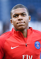 Kylian Mbappe of PSG during the Ligue 1 match between Paris Saint Germain and FC Girondins de Bordeaux at Parc des Princes on September 30, 2017 in Paris, . (Photo by Anthony Dibon/Icon Sport)