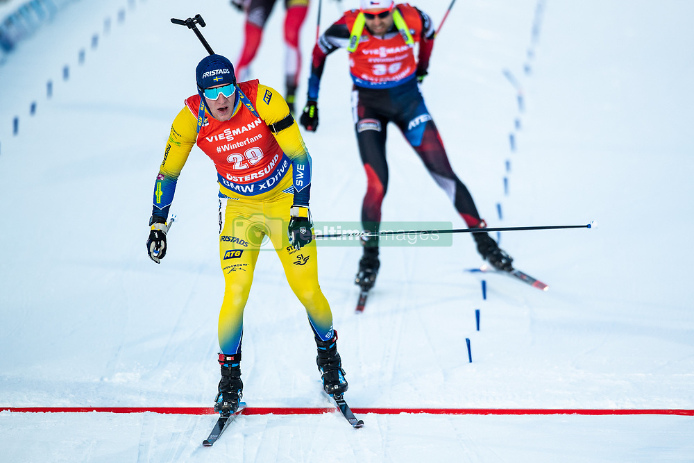 March 10, 2019 - –Stersund, Sweden - 190310 Sebastian Samuelsson of Sweden during the Men's 12,5 km Pursuit during the IBU World Championships Biathlon on March 10, 2019 in Östersund. 10, 2019 in Östersund..Photo: Johan Axelsson / BILDBYRÃ…N / Cop 245 (Credit Image: © Johan Axelsson/Bildbyran via ZUMA Press)