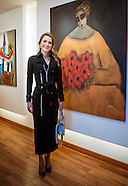 Queen Rania Visits Orient Gallery