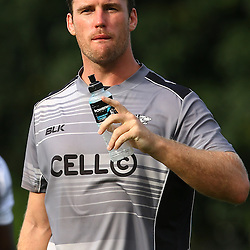DURBAN, SOUTH AFRICA, 22 January 2016 - Dave McDuling during The Cell C Sharks Pre Season training for the 2016 Super Rugby Season at Growthpoint Kings Park in Durban, South Africa. (Photo by Steve Haag)<br /> images for social media must have consent from Steve Haag