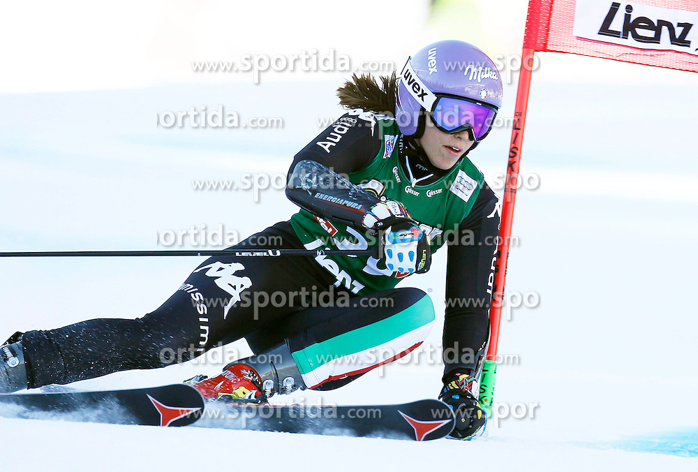 28.12.2013, Hochstein, Lienz, AUT, FIS Weltcup Ski Alpin, Damen, Riesenslalom 2. Durchgang, im Bild Elena Curtoni (ITA) // Elena Curtoni of (ITA) during ladies Giant Slalom 2 nd run of FIS Ski Alpine Worldcup at Hochstein in Lienz, Austria on 2013/12/28. EXPA Pictures © 2013, PhotoCredit: EXPA/ Oskar Höher