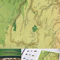 Ilustração técnica para o livro do fotógrafo Zé Paiva: Expedição Natureza - Tocantins.