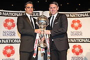 FA Trophy winners, Fylde FC during the National League Gala Awards at Celtic Manor Resort, Newport, United Kingdom on 8 June 2019.