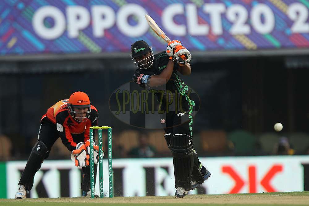 Khayelihle ZONDO  of the Dolphins  during match 4 of the Oppo Champions League Twenty20 between the Dolphins and the Perth Scorchers held at the Punjab Cricket Association Stadium, Mohali, India on the 20th September 2014<br /> <br /> Photo by:  Ron Gaunt / Sportzpics/ CLT20<br /> <br /> <br /> Image use is subject to the terms and conditions as laid out by the BCCI/ CLT20.  The terms and conditions can be downloaded here:<br /> <br /> http://sportzpics.photoshelter.com/gallery/CLT20-Image-Terms-and-Conditions-2014/G0000IfNJn535VPU/C0000QhhKadWcjYs