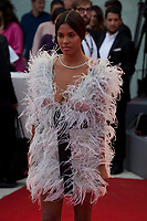 Tina Kunakey at the premiere of the film Suburbicon at the 74th Venice Film Festival, Sala Grande on Saturday 2 September 2017, Venice Lido, Italy.
