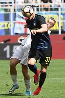 esultanza gol Antonio Candreva goal celebration<br /> Milano 15-04-2017, Stadio Giuseppe Meazza, Football Calcio 2016/2017 Serie A, Inter - Milan, Foto Image Sport/Insidefoto