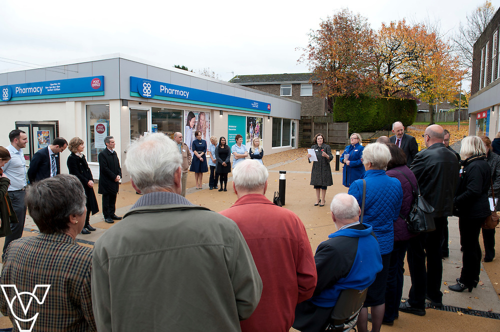Pictured is Lincolnshire Co-operative chief executive Ursula Lidbetter at the opening of the refurbished Washingborough precinct, including the Lincolnshire Co-operative food store<br /> <br /> Official re-opening of the refurbished Washingborough Food Store and precinct, which includes the Co-op Pharmacy.<br /> <br /> Date: October 30, 2015<br /> Picture: Chris Vaughan/Chris Vaughan Photography