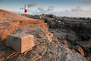 Portland Bill lighthouse, Cornwall, England, UK
