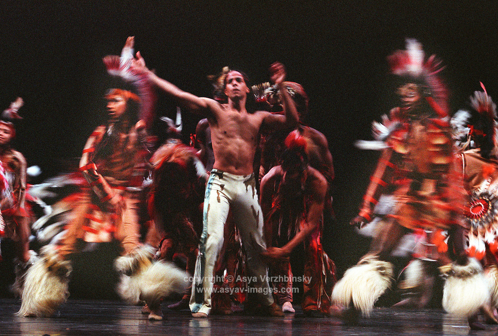 """Dance Theatre of Harlem<br /> Duncan Cooper in Michael Smuin's """"Song For Dead Warriors"""""""