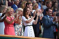 Duchess of Cambridge at Wimbledon - 2 July 2019