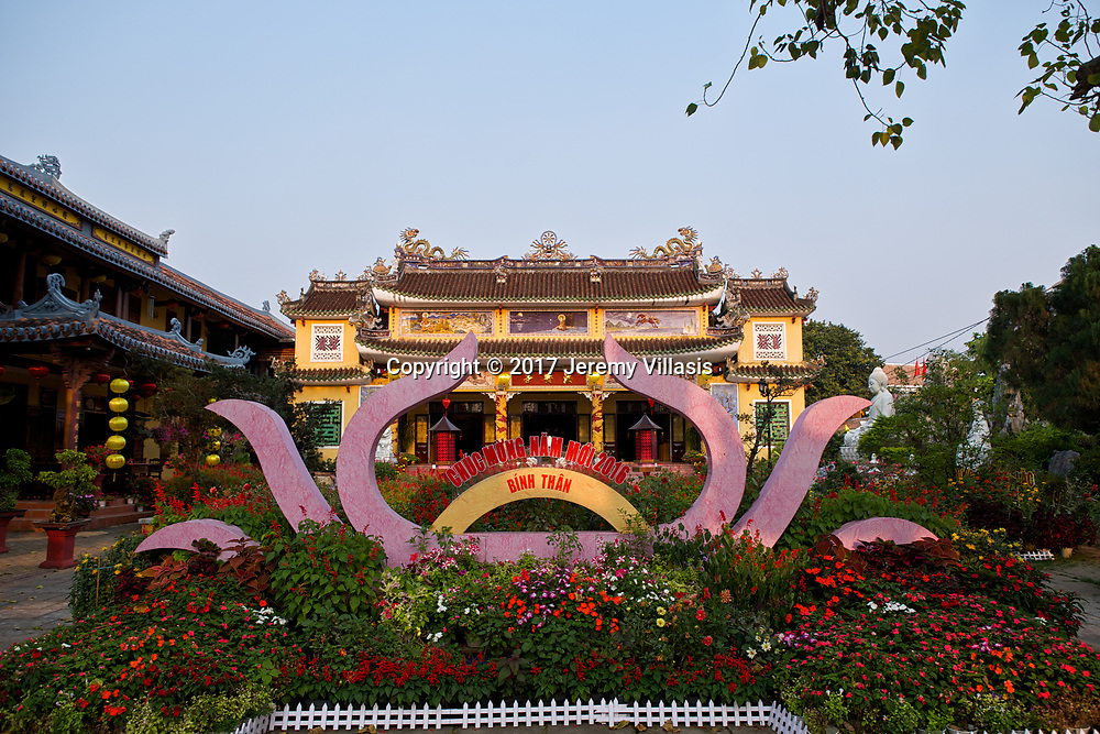 Chua Phap Bao Pagoda in Hoi An.
