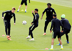 Kevin De Bruyne of Manchester City trains with his team mates - Mandatory byline: Matt McNulty/JMP - 25/04/2016 - FOOTBALL - City Football Academy - Manchester, England - Manchester City v Real Madrid - UEFA Champions League Training Session