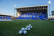 Prenton Park during the Vanarama National League match between Tranmere Rovers and Forest Green Rovers at Prenton Park, Birkenhead, England on 11 April 2017. Photo by Shane Healey.