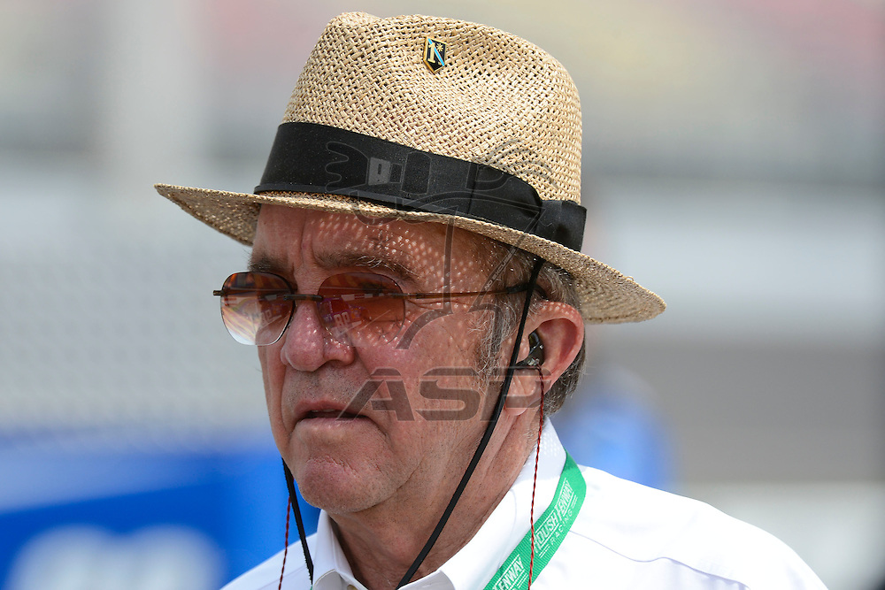 Brooklyn, MI - JUN 16, 2012: Jack Roush during qualifying for the Alliance Truck Parts 250  race at the Michigan International Speedway in Brooklyn , MI.