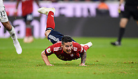 Fussball  1. Bundesliga  Saison 2018/2019  7. Spieltag  FC Bayern Muenchen - Borussia Moenchengladbach      06.10.2018 Enttaeuschung FC Bayern Muenchen; Absturz; James Rodriguez ----DFL regulations prohibit any use of photographs as image sequences and/or quasi-video.----