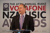 2012 Vodafone NZ Music Awards Finalists Announcements