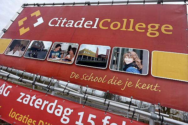 Nederland, Nijmegen, 4-1-2014Middelbare scholen doen aan werving van nieuwe leerlingen dmv een open dag of een aantrekkelijke presentatie.Foto: Flip Franssen/Hollandse Hoogte