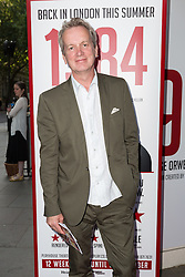 © Licensed to London News Pictures. 18/06/2015. London, UK. Frank Skinner arrives at the press night for 1984 at the Playhouse Theatre, Northumberland Avenue in London tonight. Photo credit : Vickie Flores/LNP