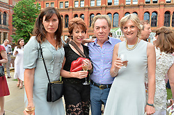 Ronni Ancona, Kathy Lette, Lady Lloyd Webber and Andrew Lloyd Webber at the V&A Summer Party 2017 held at the Victoria & Albert Museum, London England. 21 June 2017.