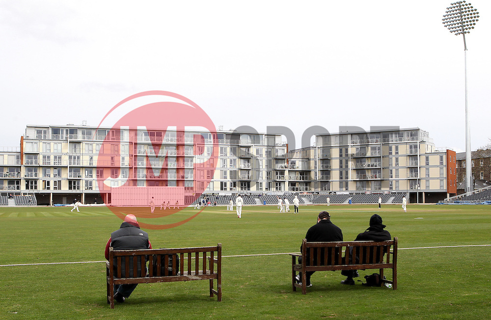 The Bristol County Ground home to Gloucestershire CCC - Mandatory by-line: Robbie Stephenson/JMP - 01/04/2016 - CRICKET - Bristol County Ground - Bristol, United Kingdom - Gloucestershire v Durham MCC University - MCC University Match