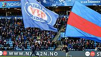 Fotball , 3. april 2017 , Eliteserien<br /> Vålerenga - Viking 1-0<br /> illustrasjon , klanen , fan , fans , flagg , banner , publikum
