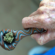Pot Smoking Senior Margo Bouer for NPR