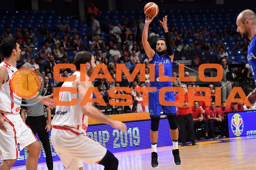 Marco Belinelli\<br /> Nazionale Italiana Maschile Senior<br /> Eurobasket 2017 - Group Phase<br /> Georgia Italia Georgia Italy<br /> FIP 2017<br /> Tel Aviv, 06/09/2017<br /> Foto M.Ceretti / Ciamillo - Castoria