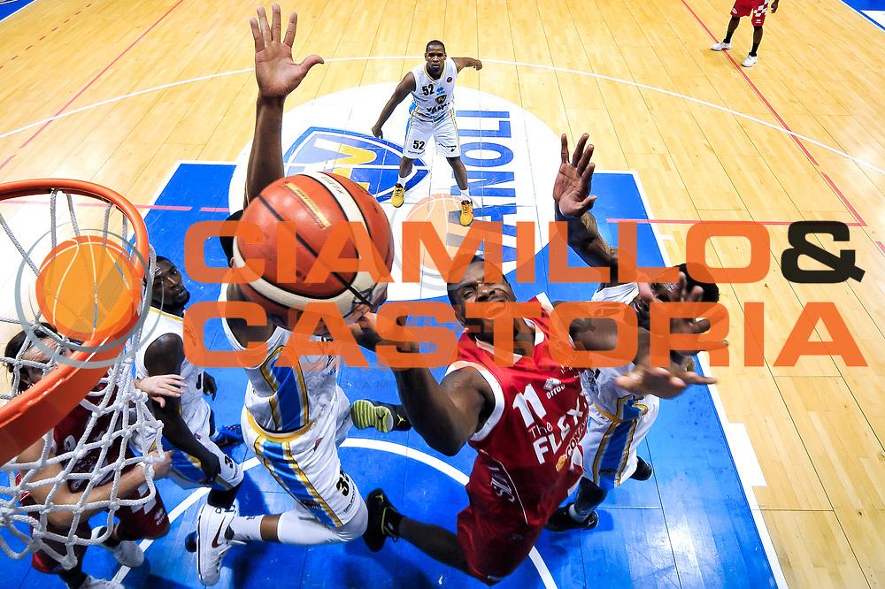 Lombardi Eric<br /> Guerino Vanoli Cremona Giorgio Tesi Group Pistoia<br /> Basket serie A 2016/2017<br /> Cremona 03/10/2016<br /> Foto Ciamillo-Castoria