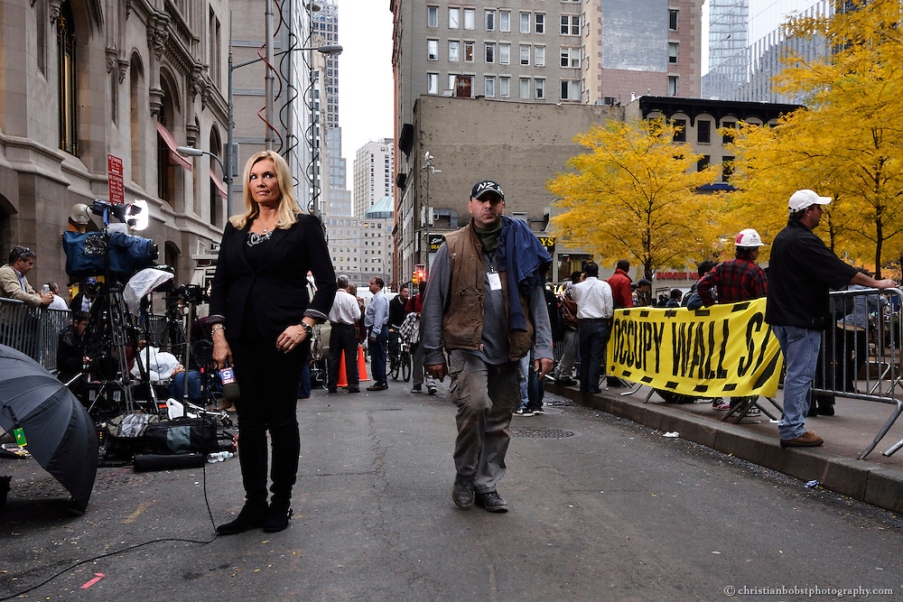 Hundreds of police officers arrested about 200 Occupy Wall Street protesters early Tuesday, November 15,  in an operation to clear the nearly two-month-old camp at Zucotti park in New York City. These  pictures were taken just after the camp was cleared by the police.
