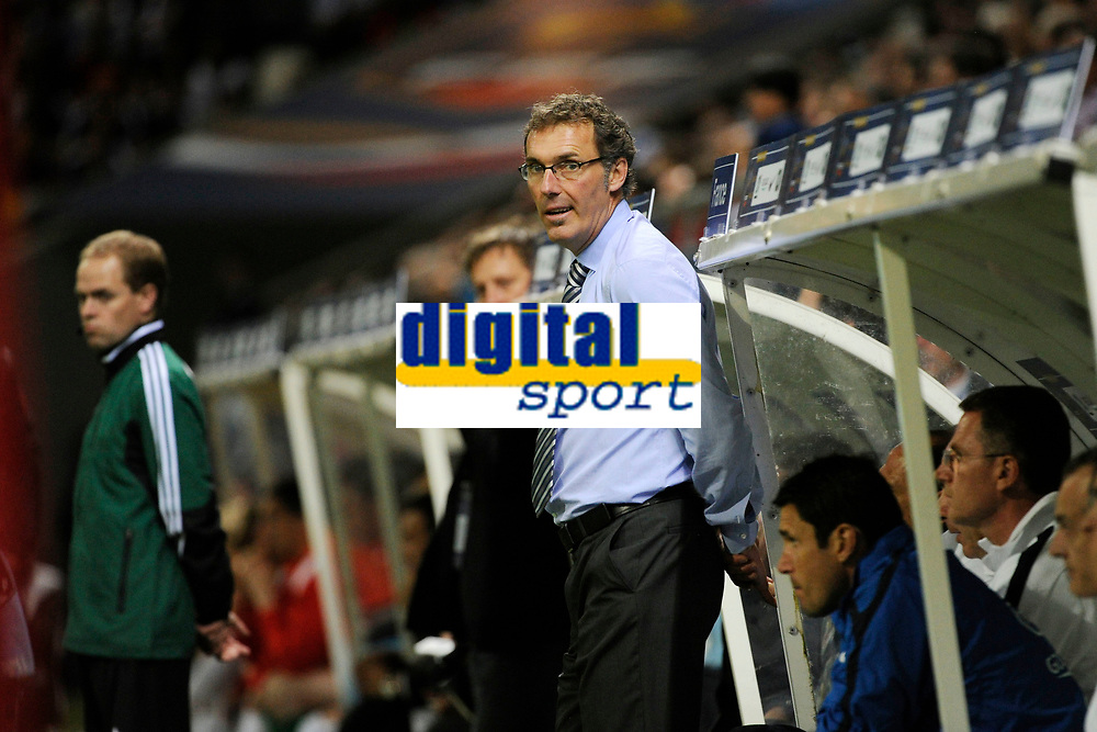 FOOTBALL - FRIENDLY GAME 2012 - FRANCE v SERBIA - REIMS (FRANCE) - 31/05/2012 - PHOTO JEAN MARIE HERVIO / REGAMEDIA / DPPI - LAURENT BLANC ( FRANCE COACH )