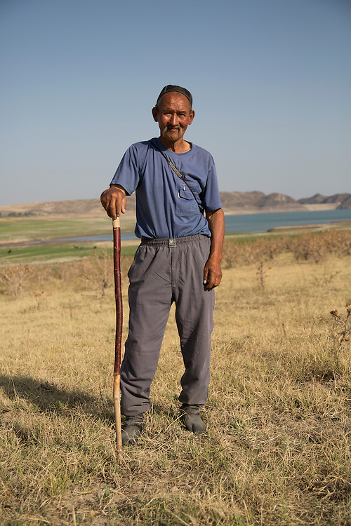 "Satinbay Mamashev, herded his cattle on the edge of the reservoir. ""If I had water, I'd live like a king here,"" says the 73-year-old. Climate change in Kyrgyzstan is affecting cross border water rights in the already ethnically divided Fergana Valley, all while glaciers melt in the Tian Shan Mountains. Tensions are rising as different groups compete for scarcer and scarcer resources."