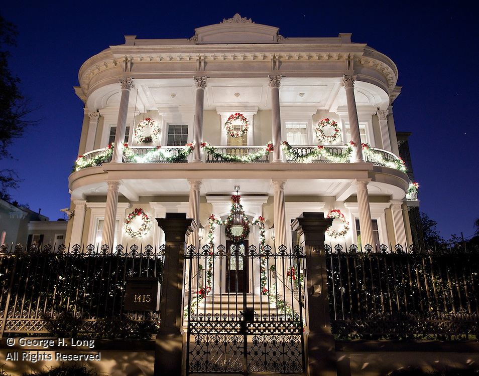 Sinclair residence at 1415 Third Street; Preservation Resource Center Holiday Home Tour